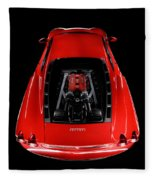 Ferrari F430 Engine Fleece Blanket