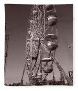 Ferris Wheel 1 Fleece Blanket