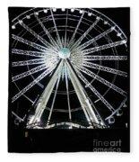 Ferris Wheel 10 Fleece Blanket