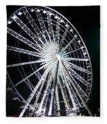 Ferris Wheel 11 Fleece Blanket