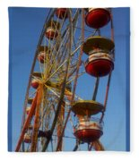 Ferris Wheel 2 Fleece Blanket