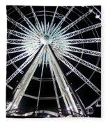 Ferris Wheel 8 Fleece Blanket