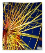 Ferris Wheel Fleece Blanket
