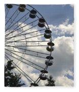 Ferris Wheel In The Sky Fleece Blanket