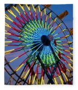 Ferris Wheel, Kentucky State Fair Fleece Blanket