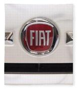 Fiat Logo Fleece Blanket