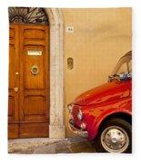 Fiat Parking Fleece Blanket