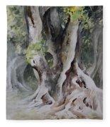 Ficus Aurea Fleece Blanket