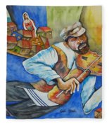 Fiddler On The Roofs Fleece Blanket