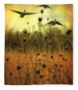 Field Dwellers  Fleece Blanket