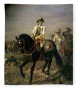 Field Marshal Baron Ernst Von Laudon 1717-90, General In The Seven Years War And War Of Bavarian Fleece Blanket