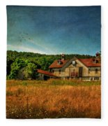Field Of Broken Dreams Fleece Blanket