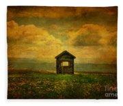 Field Of Dandelions Fleece Blanket