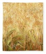 Field Of Gold - 3 Fleece Blanket