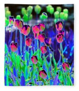 Field Of Tulips - Photopower 1496 Fleece Blanket