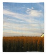 Fields Of Gold - Digital Painting Effect Fleece Blanket