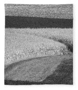 Fields Fleece Blanket