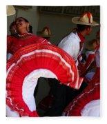 Fiesta De Los Mariachis Fleece Blanket