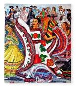 Fiesta Parade Fleece Blanket