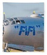 Fifi - Nose Art Fleece Blanket