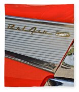 Fifty Seven Chevy Bel Air Fleece Blanket