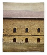 Filley Stone Barn South Side Fleece Blanket