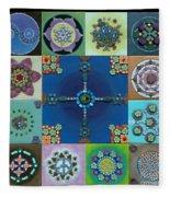Fimo Mandala Fleece Blanket