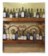 Fine Wine Fleece Blanket