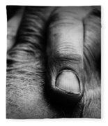 Fingers Fleece Blanket