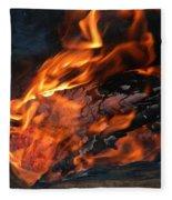 Fire 2 Fleece Blanket