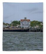 Fort Sumter Pilot  Fleece Blanket