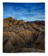 Fire Canyon Twilight Fleece Blanket