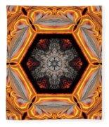 Fire Circle Fleece Blanket