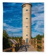 Fire Control Tower No. 23 Fleece Blanket