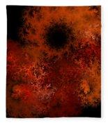 Fire Hole Fleece Blanket