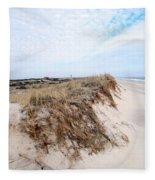 Fire Island Landscape Fleece Blanket