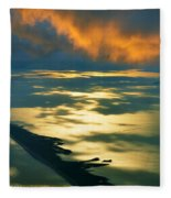Fire Island Fleece Blanket