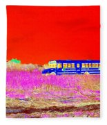 Fire Island Life Fleece Blanket