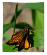 Fire Skipper Fleece Blanket
