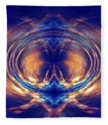 Fire Spin 1 Fleece Blanket