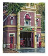 Fire Station Main Street Disneyland 01 Fleece Blanket