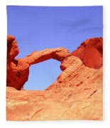 Fire Valley Arch Fleece Blanket
