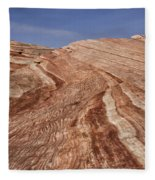 Fire Wave - Valley Of Fire Fleece Blanket