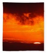 Fireball Fleece Blanket