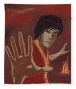 Firebending Fleece Blanket