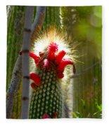 Firecracker Cacti Fleece Blanket