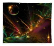 Fireflies Too Fleece Blanket