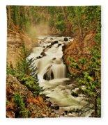 Firehole Falls Fleece Blanket