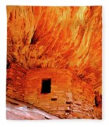 Firehouse Ruins Fleece Blanket