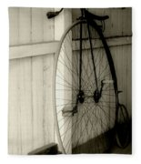 Firehouse Velocipede Fleece Blanket